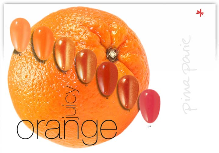 Nagelstudio Zauberhand - juicy orange